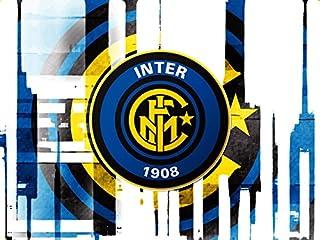 CIALDA in ostia INTER form. A4 personalizzata decorazione torta squadra di  calcio