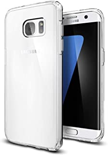 Vultic Galaxy S7 Edge Case - Soft Slim TPU [Crystal Clear] Transparent Protective Back Cover for Samsung Galaxy S7 Edge (Clear)