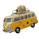 KGDC Huchas Creative Hierro Piggy Bank Vintage Bus Forma de autobús Caja de Monedas Nostalgic Memoria de la Infancia Metal Regalo Decoración para el hogar para niños Niños Banco de Dinero