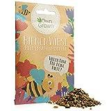 OwnGrown Bienenwiese Blumenmischung: 10g Premium Bienen Saatgut für Bunte Bienenweide, Bienen und Hummelmagnet - bienenfreundliche Blumensamen Mischung EIN- und mehrjährig - Blumenwiese Samen