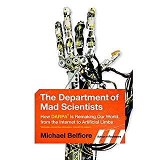 The Department of Mad Scientists audiobook cover art