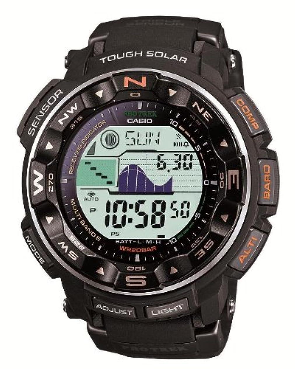 壊れたマイル引き算[カシオ]CASIO 腕時計 プロトレック 電波ソーラー PRW-2500-1JF メンズ