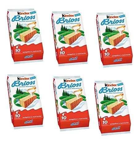 6x Kinder Ferrero Brioss Kuchen mit Milch italienisch classic brioche kekse 10x30g