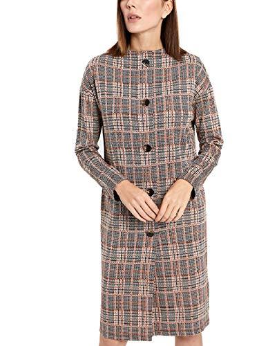 LC WAIKIKI Damen Plaid Kleid mit Knöpfen