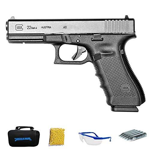 Umarex – Glock 22 Gen4   Pistola de Airsoft Calibre 6mm (Arma Aire Suave de Bolas de...