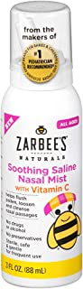 Zarbee's Naturals Children's Nasal Spray With Vitamin C, 3 Ounce