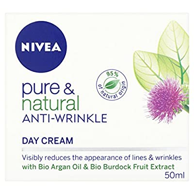 Nivea Pure and Natural Anti-Wrinkle Day Cream, 50 ml by BEIVZ