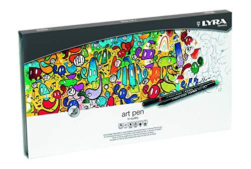 Lyra Hi-Quality Art Pen Est. Metal 40 Uds.
