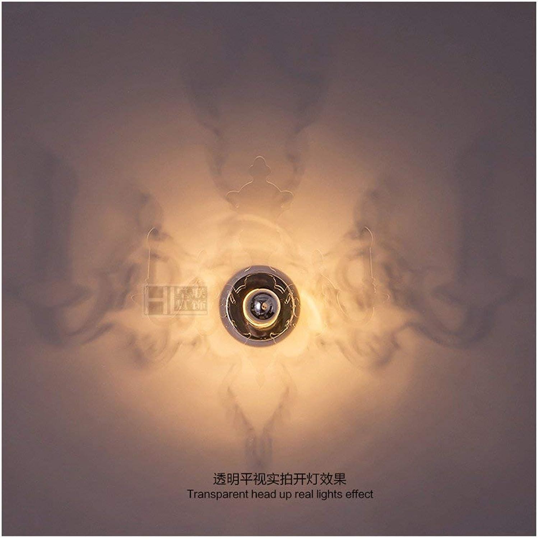 QSM Moderne minimalistische Innenwand-Leuchte, Retaurant-Schlafzimmer Bedide Lampen-Wand-Lampe führte Kinderlampe amerikanische Wand-Aile kreative Tranparent Farbe (50  40Cm), Hintergrund-Wand-Beleu B07HVWG5JK     | Nutzen Sie Materialien voll aus