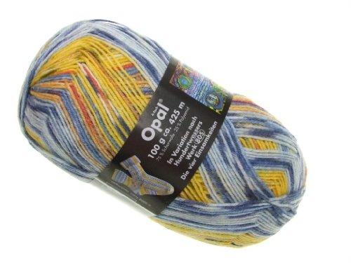 OPAL Sockenwolle Hundertwasser II - Die vier Einsamkeiten