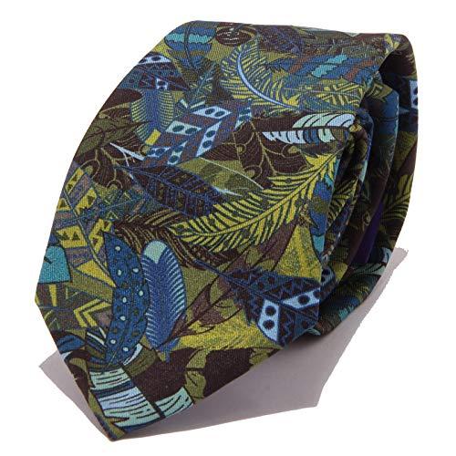 SIEGER 9558W cravatta uomo multicolor silk tie men [ONE SIZE]