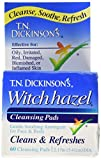 Dickinson Brands Hazelet Witch Hazel Pad, 60 Count, (Pack of 2)