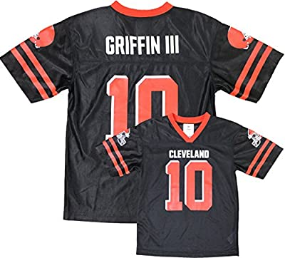 Robert Griffin III Cleveland Browns Brown Home Player Jersey Youth (Medium 8)