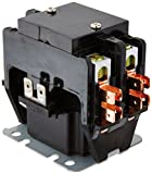 Emerson 90-247 Two pole contactor designed for heating and Air Conditioning units with 40-Amp and 24V Coil