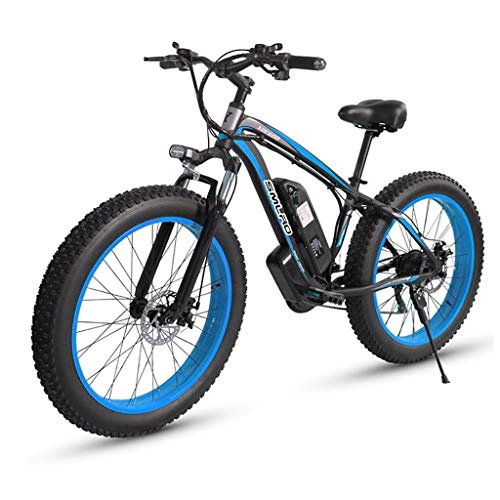 ZJGZDCP Electric Bikes for Adult Mens Mountain Bike Magnesium Alloy Ebikes Bicycles All Terrain 26' 48V 1000W Removable Lithium-Ion Battery Bicycle Ebike for Outdoor Cycling Travel Work Out