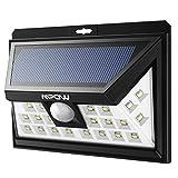 Mpow 24 LED Lampe Solaire Détecteur de Mouvement Eclairages de Sécurité, Eclairage...