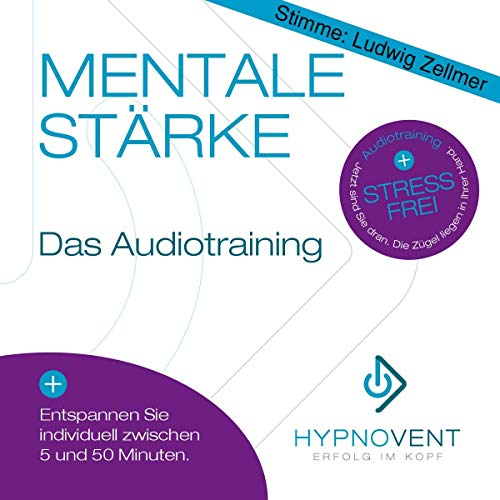 Hypnose CD: Stress abbauen mit Hypnose & besser schlafen, durch Hypnose CD Burn-out vermeiden, Original von HYPNOVENT - Erfolg im Kopf