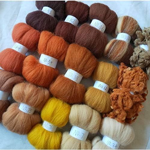Xuccus Max 48% OFF Quantity limited WFPFBEC Alpaca Curly Fiber Wool Especially for Felt P