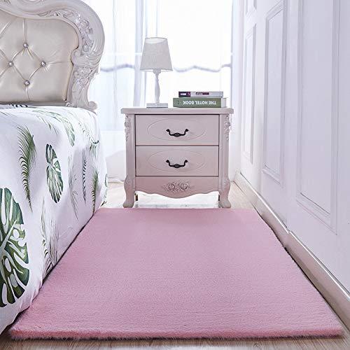 VitaLity Teppich Ideal für Wohnzimmer,Schlafzimmer usw,Rechteckiger Modern Wollteppich,Anti Rutsch Teppichunterlage 100X200cm