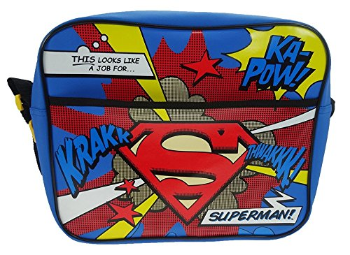DC Comics Superman School Bag, Multicoloured Super001007