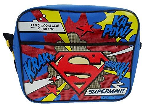 DC Comics Superman School Bag, Multicoloured Super001007