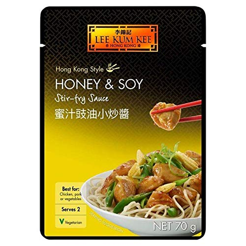 Lee Kum Kee Sauce for Honey Garlic Spare Ribs - 70g (0.15 lbs)