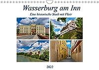 Wasserburg am Inn (Wandkalender 2022 DIN A4 quer): Chiemgauer Stadt mit Flair (Monatskalender, 14 Seiten )