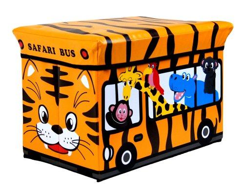 RSW - Niños infantil almacenaje grande asiento taburete libros ropa caja...