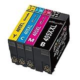 Gilimedia 405XXL Druckerpatronen für Epson 405 405XXL Tintenpatronen, Kompatibel mit Epson Workforce 7840DTWF 7830DTWF 7835DTWF WF-7840DTWF WF-7830DTWF WF-7835DTWF (Schwarz, Cyan, Magenta, Gelb)