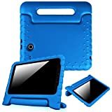 Fintie Case for Samsung Galaxy Tab E 9.6 - Light Weight Shock Proof Convertible Handle Stand Kids Friendly for Samsung Galaxy Tab E Wi-Fi / Tab E Nook / Tab E Verizon 9.6-Inch Tablet, Blue