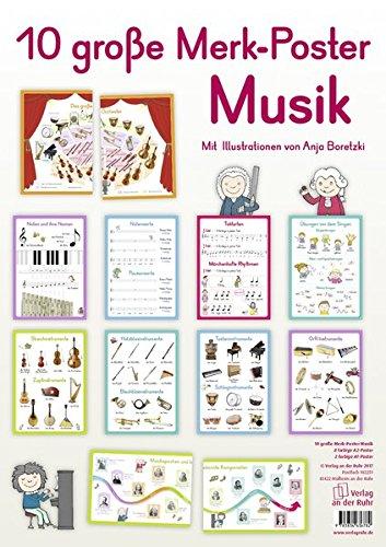 Merk-Poster: 10 große Merk-Poster Musik