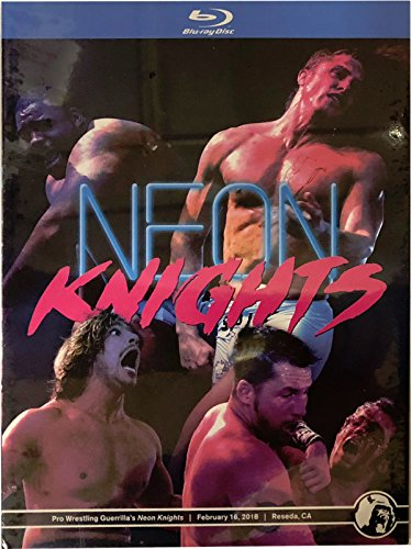 Official Pro Wrestling Guerrilla PWG - Neon Knights 2018 Event Blu-Ray