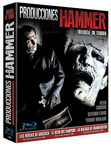 Producciones Hammer - Trilogía De Terror [Blu-ray]