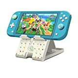 FXICAI Stand for Nintendo Switch/Switch Lite, Animal Crossing Angle Adjustable Swicth Playstand, Portable Foldable Compact Non-Slip Bracket
