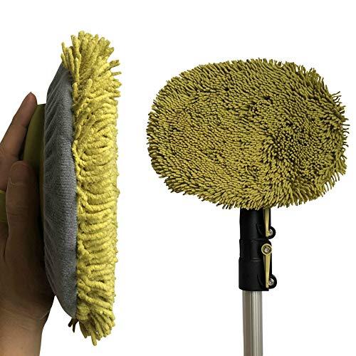 DOCAZOO DocaPole Wall Duster + Varilla de extensión 1.5-3.5 M/Microfibra de Chenilla...