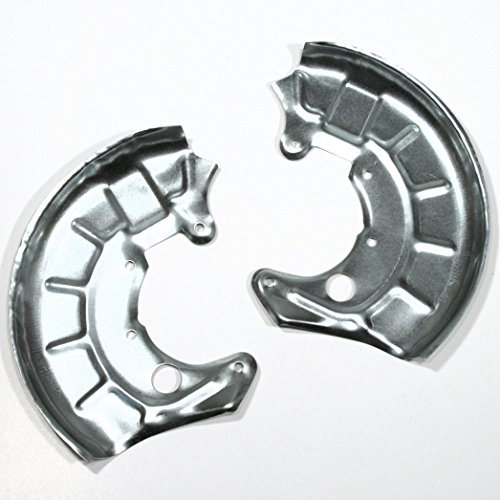 2 x Spritzbleche/Deckbleche/Ankerbleche links und rechts für vorne/für die Vorderachse