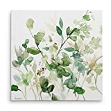 WEXFORD HOME Sage Garden Gallery Wrapped Canvas Wall Art, 40x40