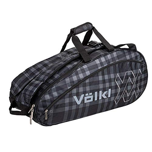 Volkl Team Combi Tennis Bag Black and Plaid ()