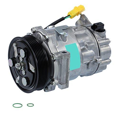1x Klimakompressor Kompressor Klimaanlage SANDEN SD7C16,