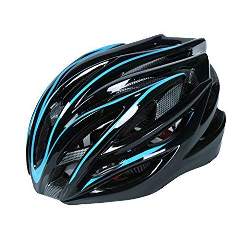 DaiHan Caschi Bicicletta Ultra-Leggero Casco Bici di Montagna Casco Protettivo Sportivo per Uomini e Donne,Blu Nero