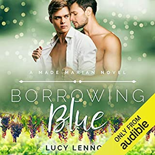 Borrowing Blue audiobook cover art