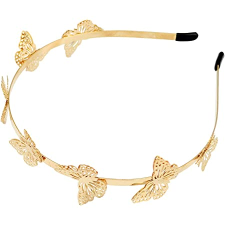 Chic Butterfly Fancy Headband Wedding Party Crown Hair Band for Wedding Prom