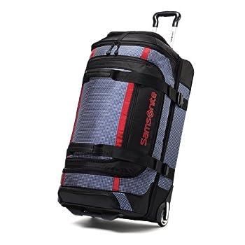 Samsonite Ripstop Wheeled Rolling Duffel Bag Blue 30 Inch