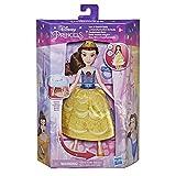 Disney Princess - Bella Vestido mágico - Muñeca de Cambio rápido de Ropa Inspirada en la película La Bella y la Bestia - Juguete para niñas de 3 años en adelante