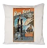 Han Solo Chewbacca Poster, Kissenbezug, Sofadekoration
