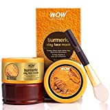 Revive your tired skin, fade acne scars and remove dullness with WOW Skin Science Turmeric Clay Face Mask. It is a toning and refining mask that gets rid of dead skin layer A skin-brightening, anti-blemish face mask for reviving dull and tired skin. ...