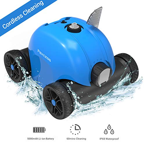 Why Choose PAXCESS Cordless Automatic Pool Cleaner, Rechargeable Robotic Cleaner for Swimming Pool, ...