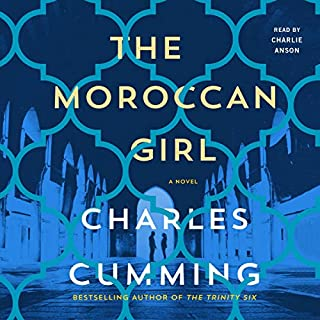 The Moroccan Girl audiobook cover art