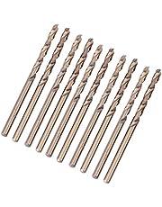 Xinrub Juego de Brocas de Cobalto M35 Juego de Taladros de HSS-CO para Taladrar en Acero Inoxidable (3mm)