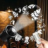 Laser Christmas Lights, Brightown Decorative Light Projector 8 Green...